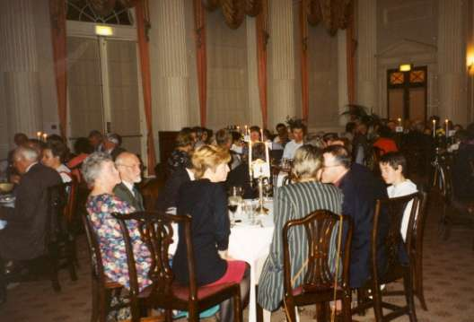 Formal Dinner in Pump Rooms - 10th Anniversary